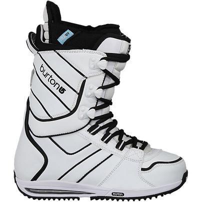 Купить Ботинки для сноуборда BURTON 2010-11 SAPPHIRE white-black, сноуборда, 671541