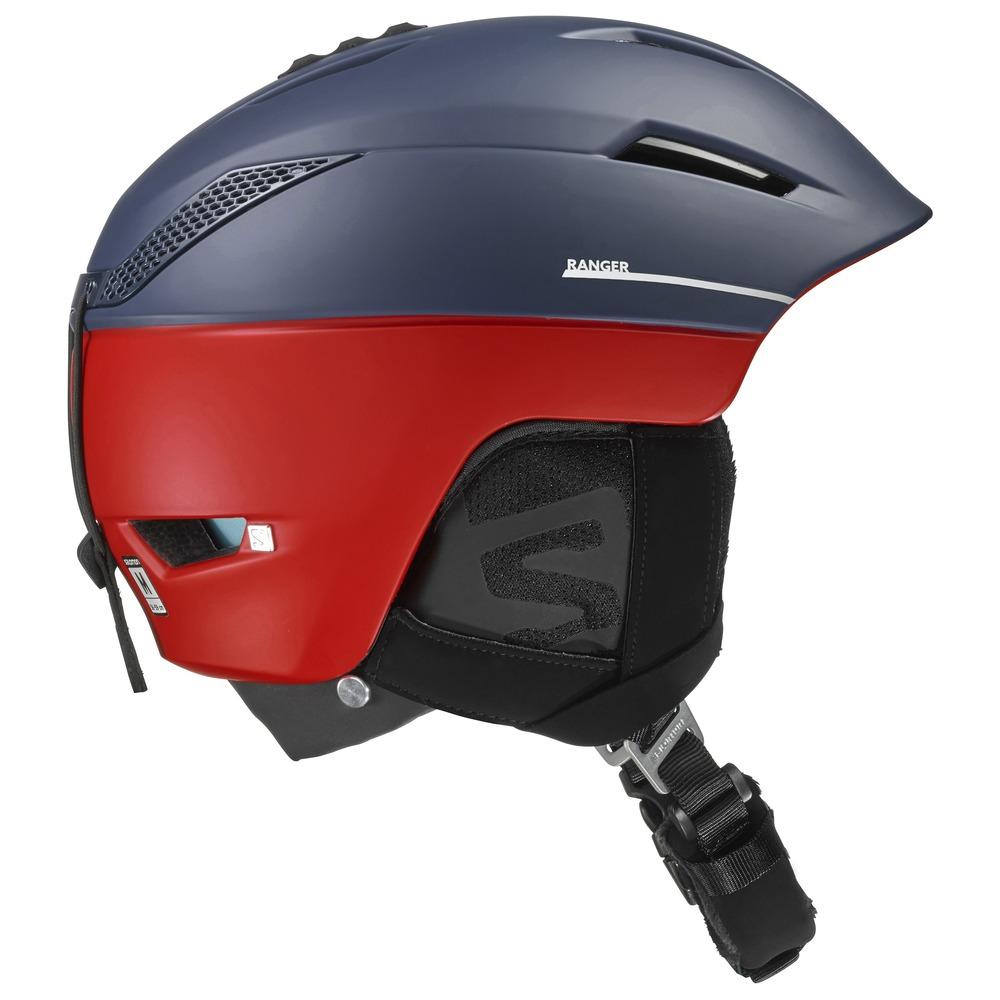 Купить Зимний Шлем SALOMON 2016-17 HELMET RANGER C.AIR Navy/Red, Шлемы для горных лыж/сноубордов, 1287393
