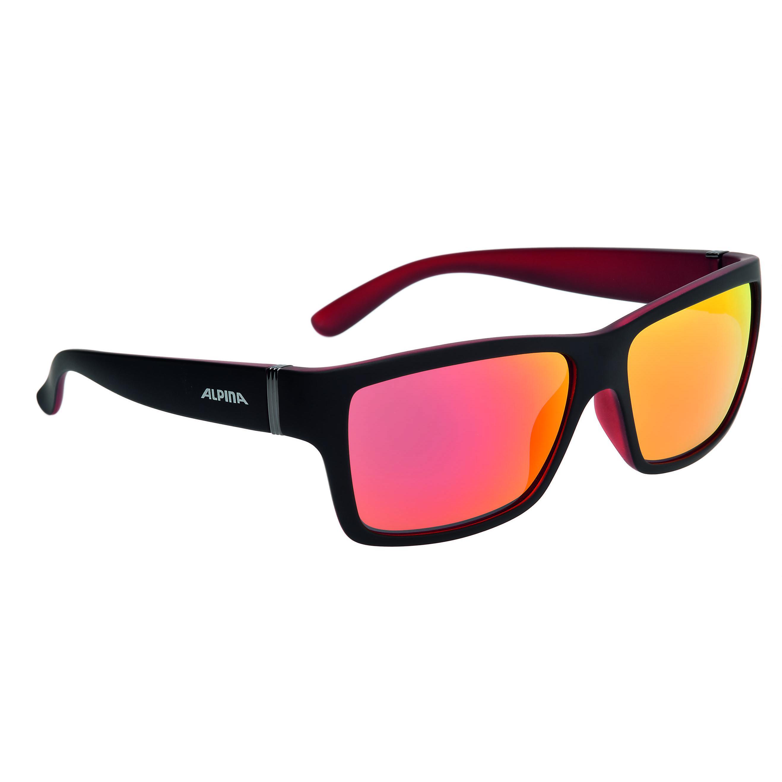 Очки солнцезащитные Alpina 2018 KACEY black matt-red, солнцезащитные, 1180599  - купить со скидкой