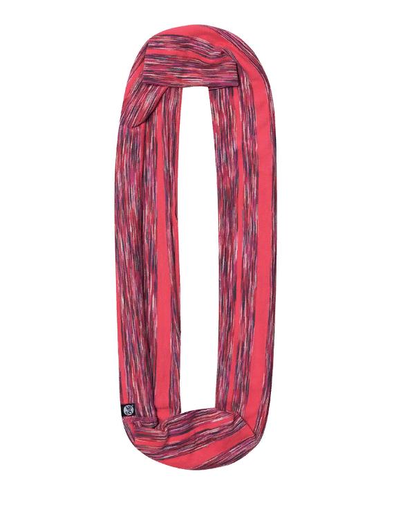 Купить Шарф BUFF COTTON INFINITY WILD PINK STRIPES Банданы и шарфы Buff ® 1340604