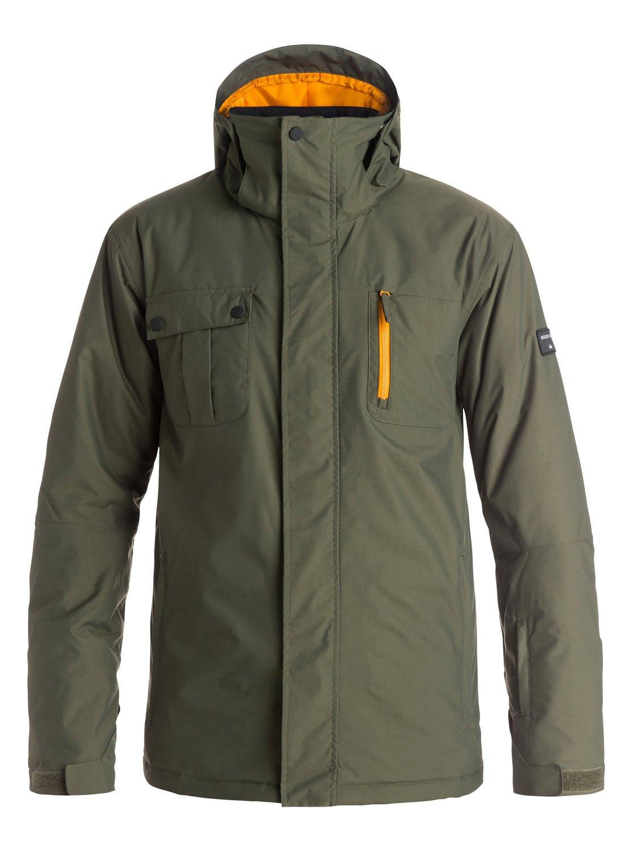 Куртка сноубордическая Quiksilver 2016-17 Mission Solid J M SNJT CSN0 Одежда 1279797  - купить со скидкой