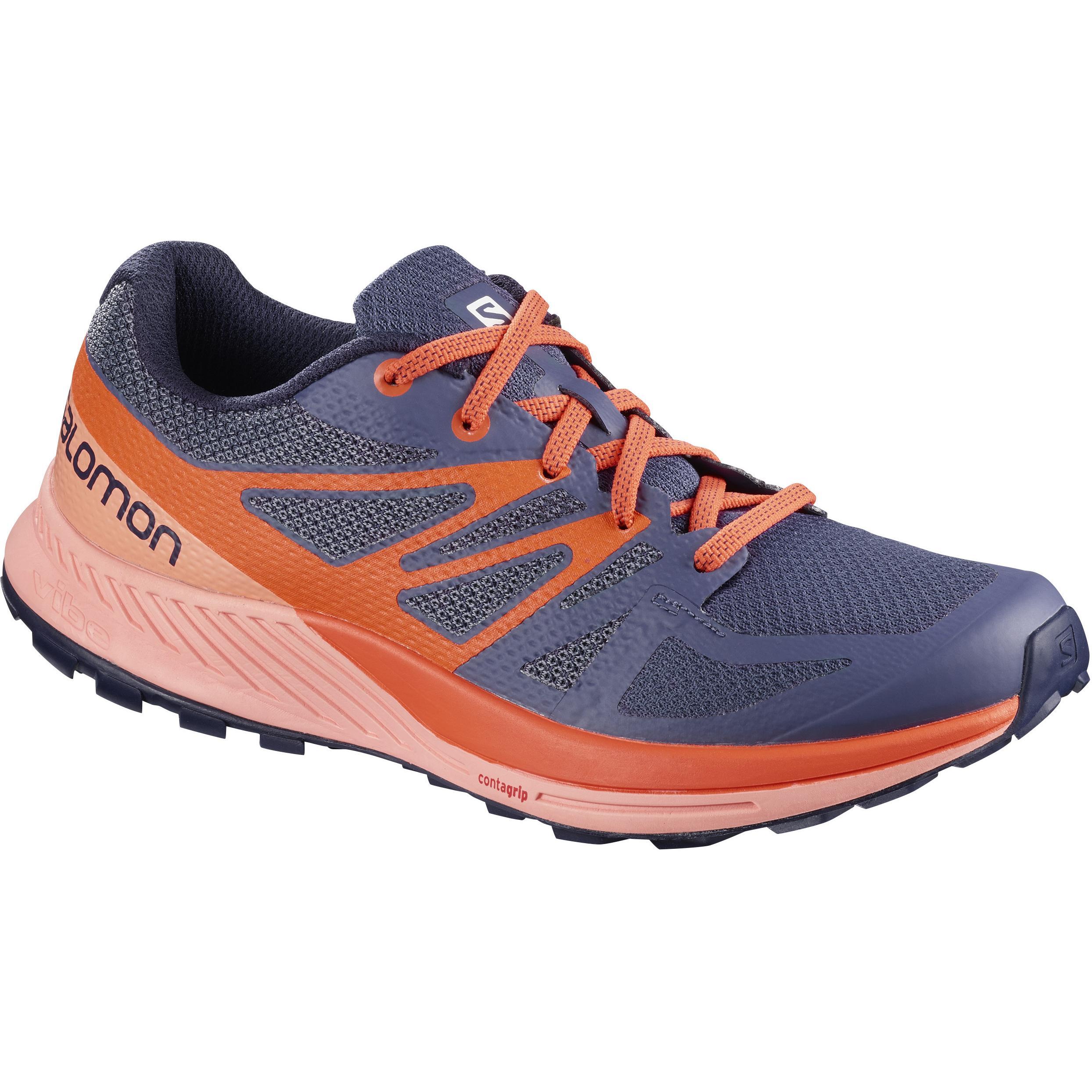 Купить Беговые кроссовки для XC SALOMON 2018 SENSE ESCAPE W Crown Blue/Coral Almond/Nasturtium, Кроссовки бега, 1400231