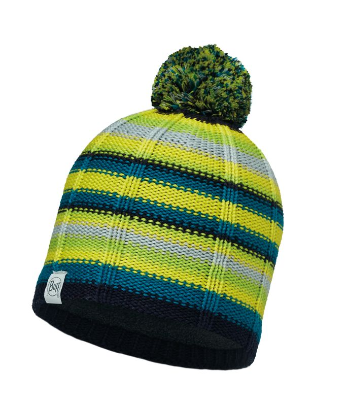 Шапка Buff Child Knitted & Polar Hat Buff Lad Lime-Lime-Standard