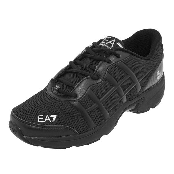 Купить Беговые кроссовки EA7 Emporio Armani 2013-14 Running C-Cube Shoes M PRIMA II черный Кроссовки для бега 1015512