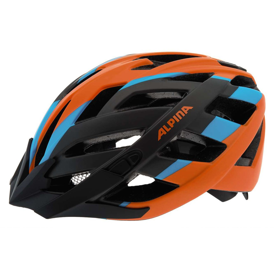 Купить Летний шлем Alpina TOUR Panoma L.E. titanium-orange-blue, Шлемы велосипедные, 1180031