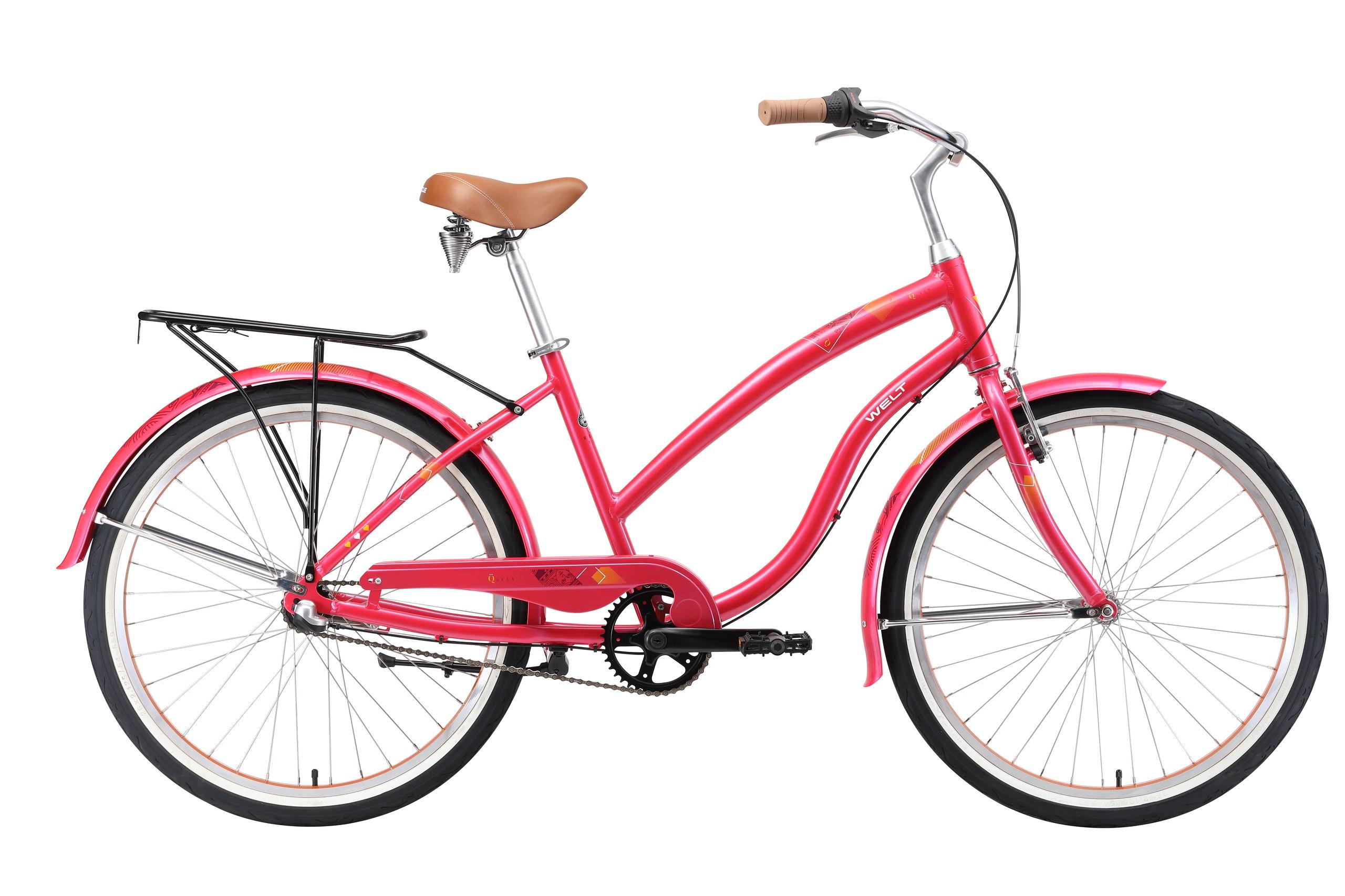 Велосипед Welt 2018 Queen Al 3 Dark Pink