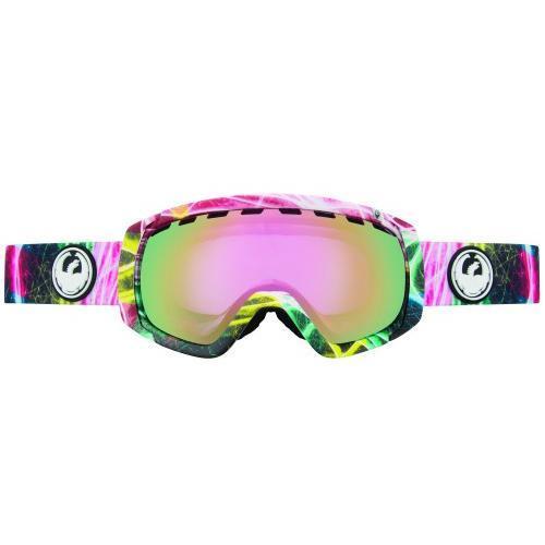 Купить Очки горнолыжные DRAGON 2014-15 ROGUE LightShow/PinkIon+Yellow, горнолыжные, 1134846