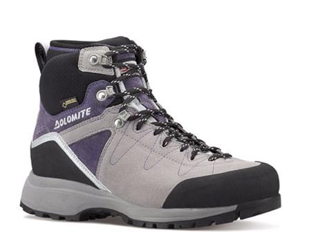 Купить Ботинки для хайкинга (высокие) Dolomite 2017-18 Steinbock Hike Gtx Wmn Pewter/Amethyst, Треккинговая обувь, 1295619