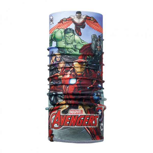 Купить Бандана BUFF SUPERHEROES JR POLAR AVENGERS ASSEMBLE MULTI / FLINT, Банданы и шарфы Buff ®, 1263930