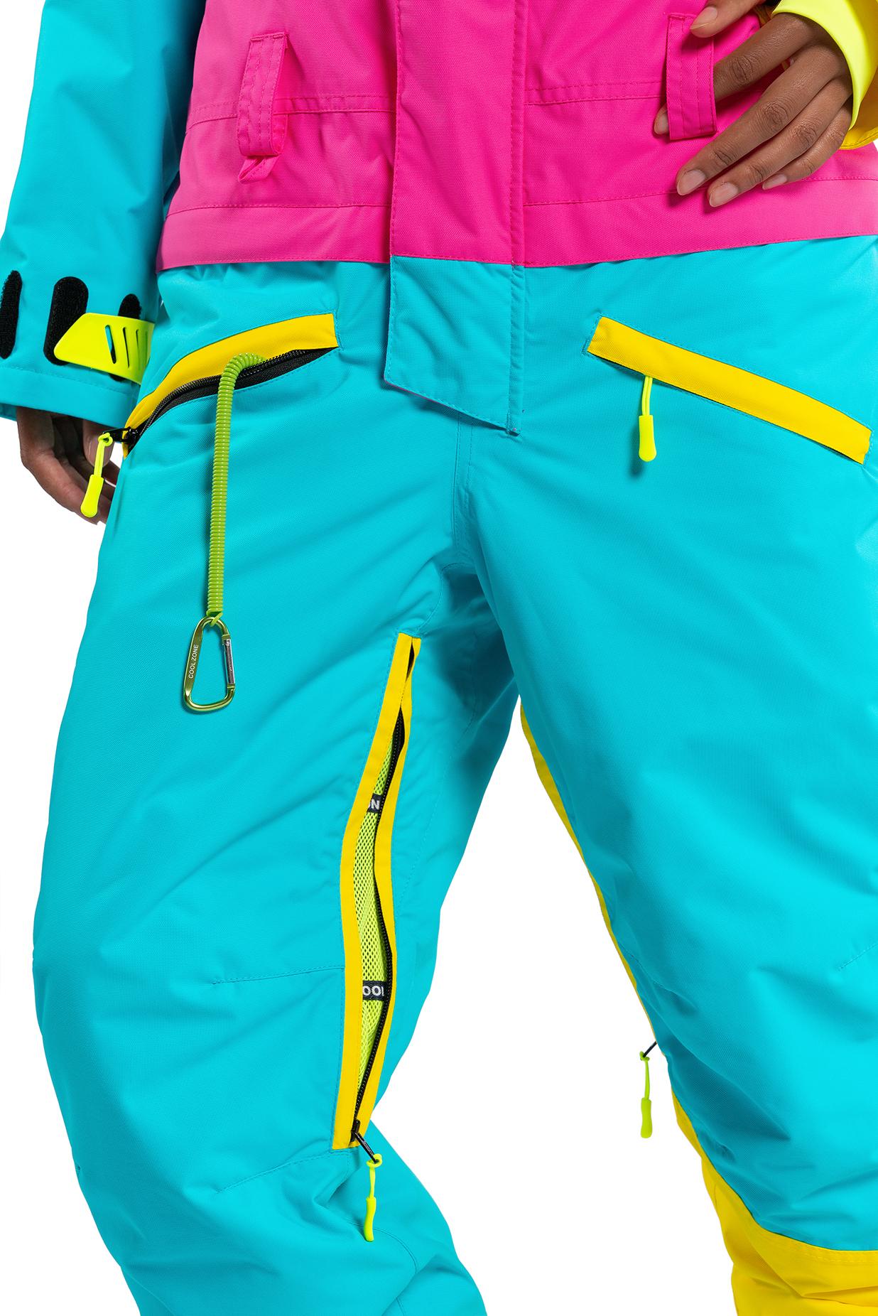 Комбинезон сноубордический COOLZONE 2018-19 MIX желтый цикламен бирюза ·  БЕСПЛАТНАЯ доставка по России 0fbea1e2ca6
