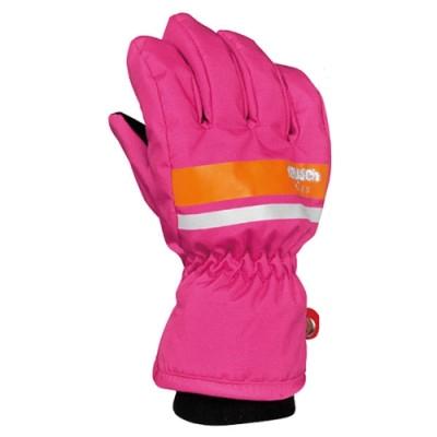 Купить Перчатки горные REUSCH 2015-16 Reusch Kids hot pink / orange popcicle Детская одежда 1226303