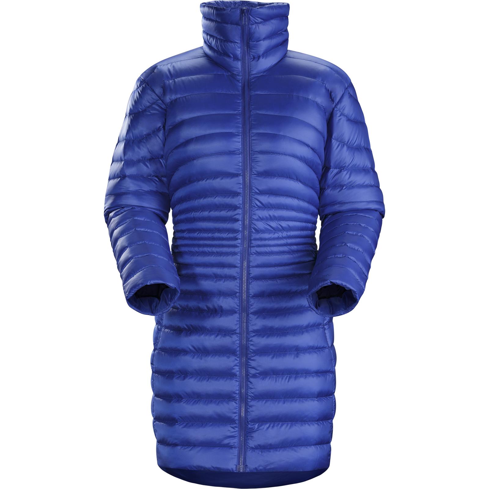 женская куртка arcteryx, синяя