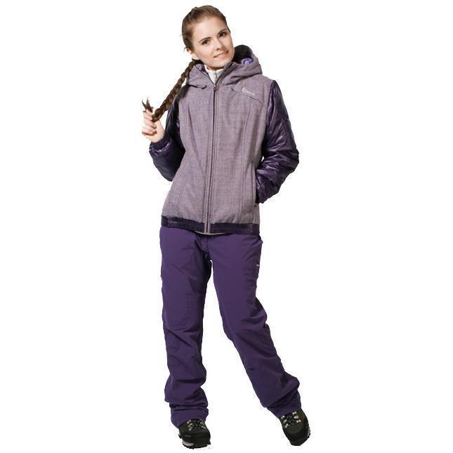 Купить Брюки для активного отдыха Salewa 5 Continents ZANZIBAR DRY W PNT iris (фиолетовый) Одежда туристическая 682496