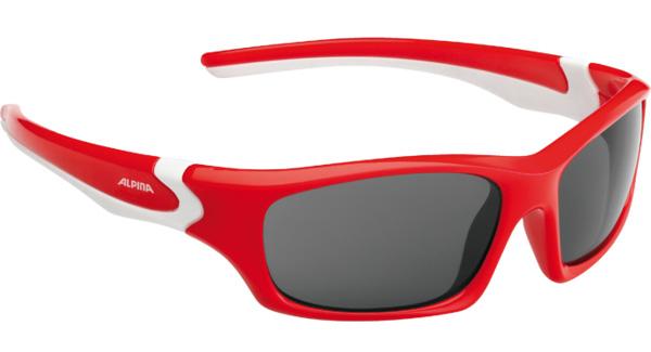 Купить Очки солнцезащитные Alpina JUNIOR / KIDS Flexxy Teen red-white/black S3, солнцезащитные, 1131853