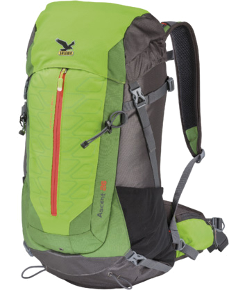Рюкзак Salewa Hiking Ascent 26 chlorophil/anthracite