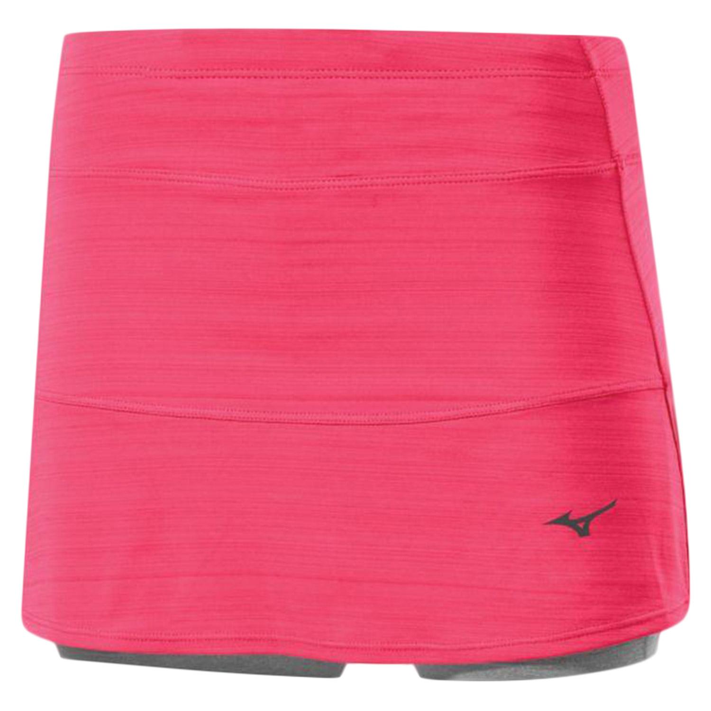 женская юбка mizuno, красная