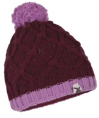 Шапка Salewa PLOT KN K BEANIE grape/6230