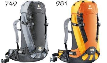 Купить Рюкзак Deuter 2009 Guide 30+ SL mandarine-sun Рюкзаки для альпинизма 429718