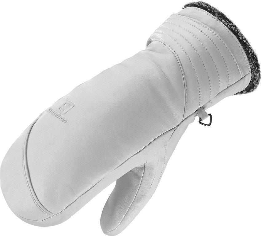 Купить Варежки SALOMON 2016-17 GLOVES NATIVE MITTEN W White, Перчатки, варежки, 1309706