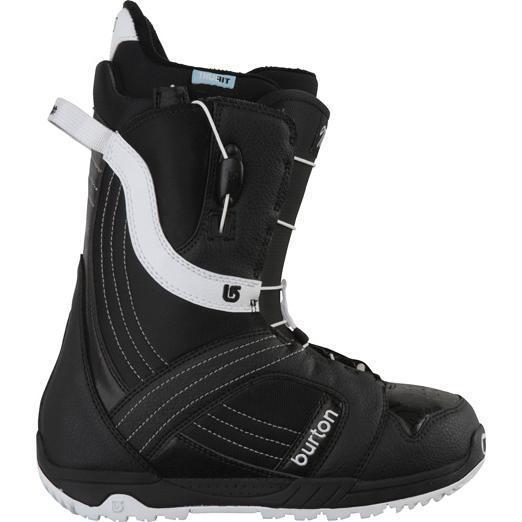 Купить Ботинки для сноуборда BURTON 2011-12 MINT BLACK/WHITE, сноуборда, 753820