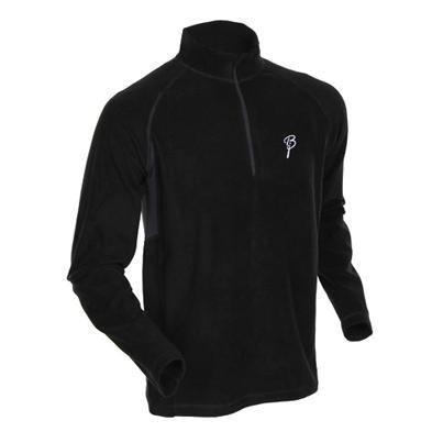 Жакет беговой Bjorn Daehlie Half Zip MOTION Black/Ebony (черный)