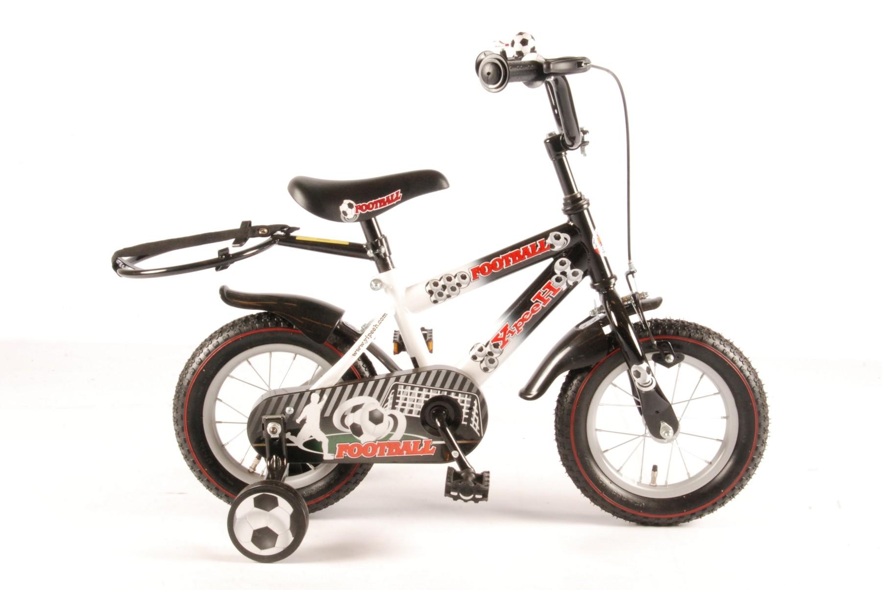 Велосипед Volare Football 2014 Черный / Белый