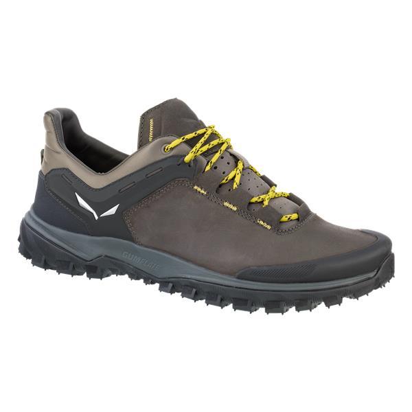 Купить Ботинки для треккинга (низкие) Salewa 2017 MS WANDER HIKER L Black Olive/Bergot Треккинговая обувь 1330030