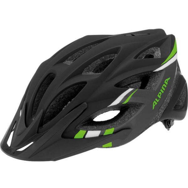 Купить Летний шлем Alpina Skid 2.0 L.E. black-darkgrey-green, Шлемы велосипедные, 1137356