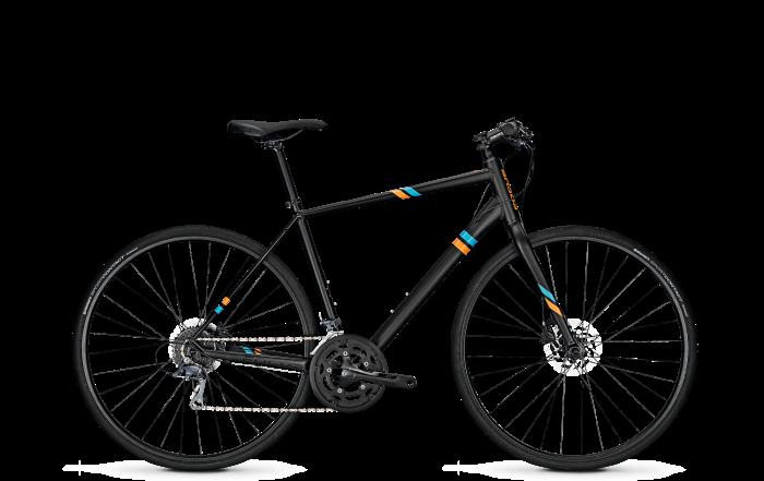 Велосипед Focus Arriba Claris Street 2018 Magicblackmatt
