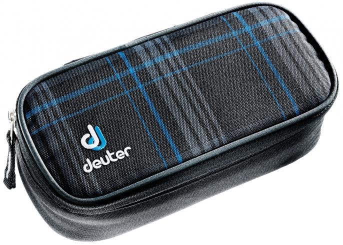 Купить Пенал Deuter 2016-17 Pencil Case blueline check Аксессуары 1147498