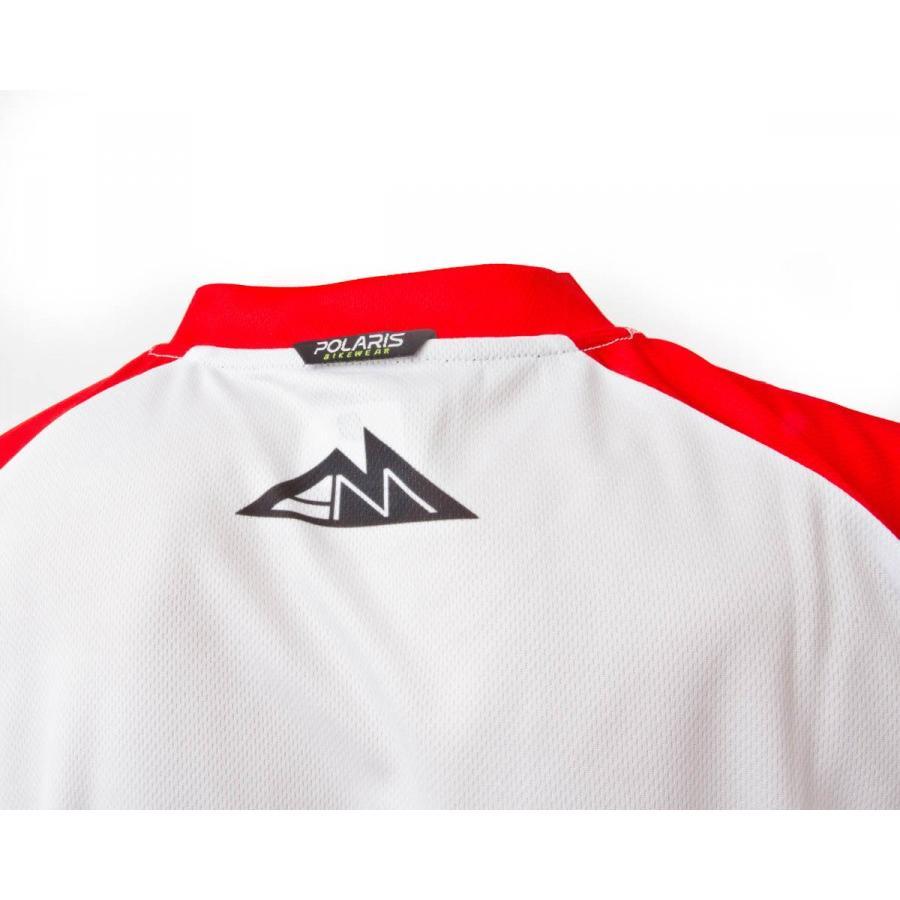 Джерси Polaris 2014 Am Gravity Red/black/white