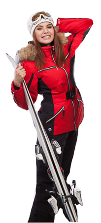 Купить Куртка горнолыжная DESCENTE 2013-14 JADA ERD/BK, Одежда горнолыжная, 1021671