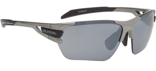 Купить Очки солнцезащитные Alpina PERFORMANCE TRI-SCRAY tin-black/black mirror S3 / clear S0 orange S2, солнцезащитные, 1131716