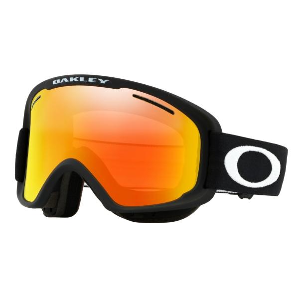 Купить Очки горнолыжные Oakley O2 XM MATTE BLACK/FIRE IRIDIUM/, горнолыжные, 1220742