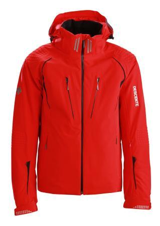 Купить Куртка горнолыжная DESCENTE 2014-15 Swiss WC ERD/BK, Одежда горнолыжная, 1139535