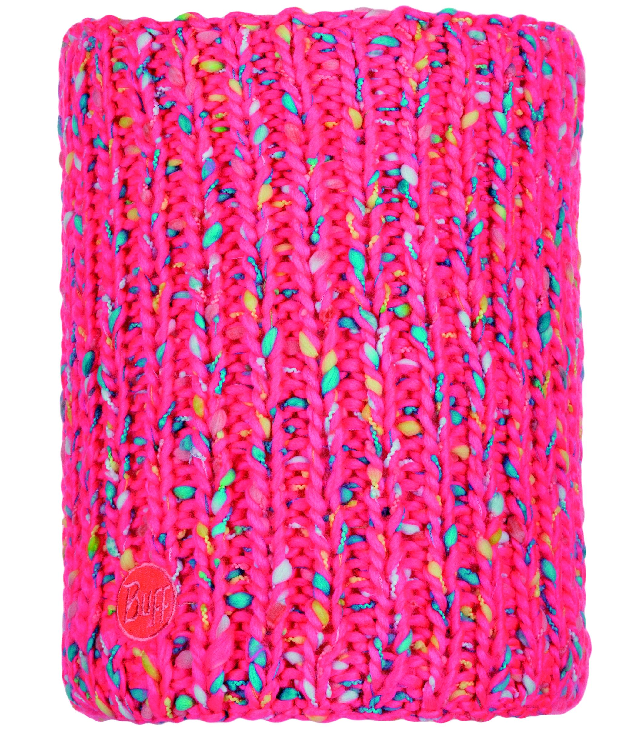 Шарф Buff Knitted & Polar Neckwarmer Yssik Pink Fluor