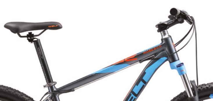 Велосипед Welt 2018 Ridge 2.0 D 29Er Matt Grey/orange/blue