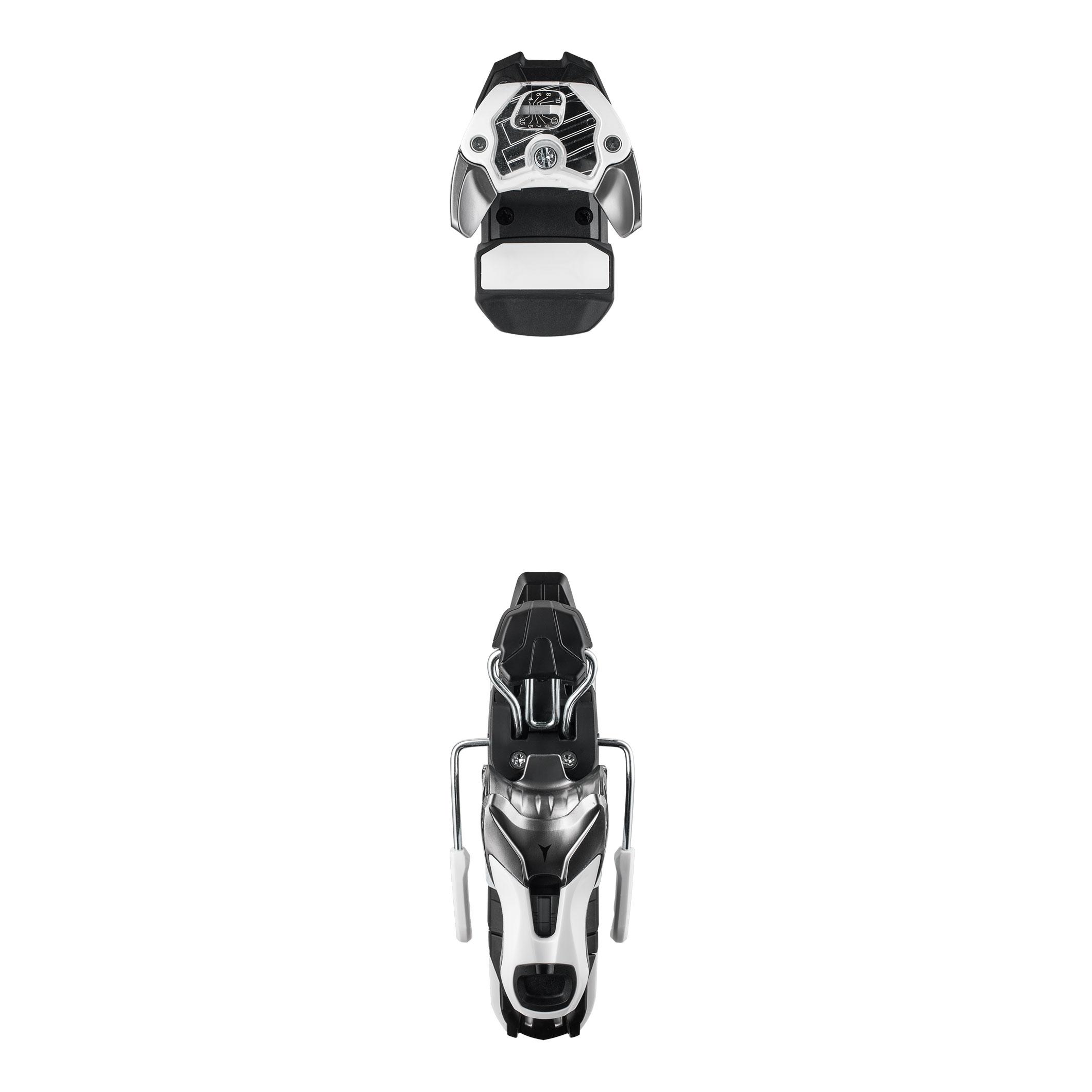 Купить Горнолыжные крепления Atomic 2016-17 N WARDEN 11 Gun Metal/White 100 / Белый, крепления, 1292454