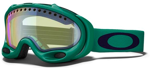 Очки горнолыжные Oakley A-FRAME MINT LEAF w/ H.I. YELLOW
