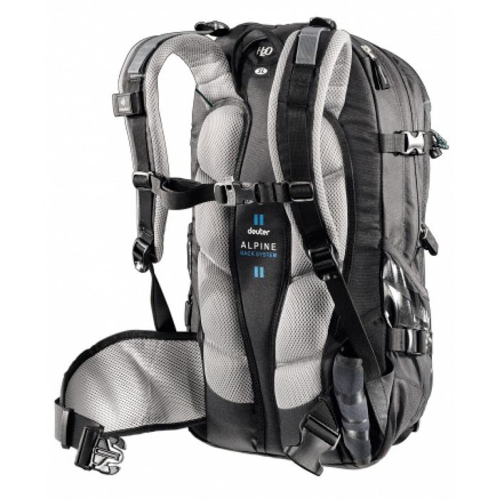 Рюкзак deuter 2015 alpine winter freerider 26 black-anthracite сумки рюкзаки кмф