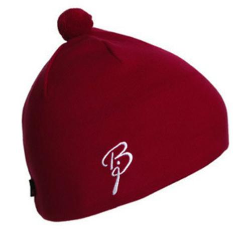 женская шапка bjorn daehlie, красная