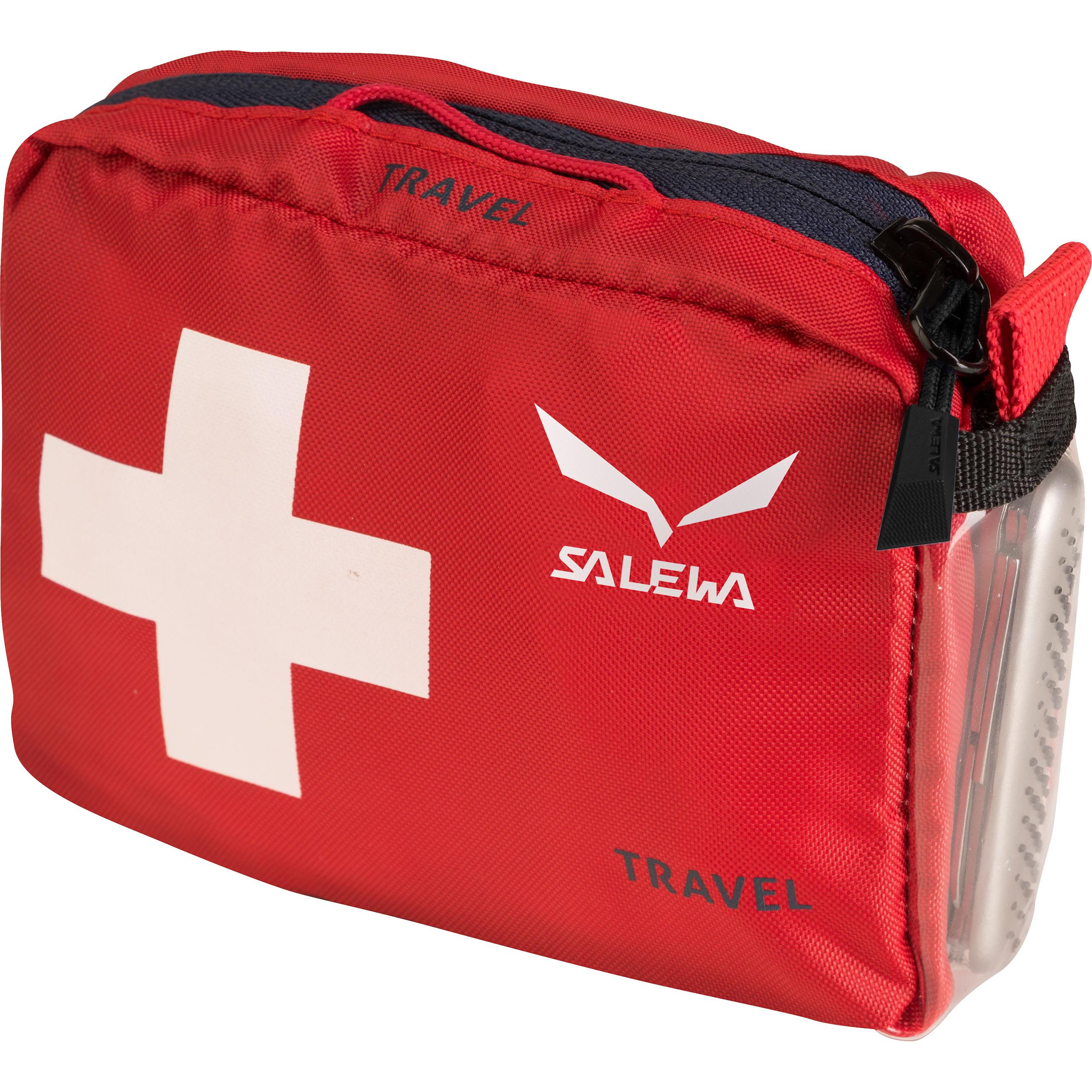 Аптечка Salewa 2015 Accessories First Aid Kit Travel Dark Red / от КАНТ