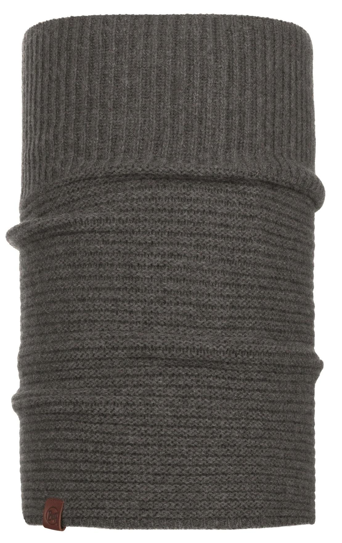 Шарф Buff Knitted Neckwarmer Comfort Biorn Grey