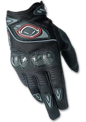 Купить Перчатки велосипедные UFO Technical Carbon Glove DH-FR black (K), Перчатки, варежки, 314401