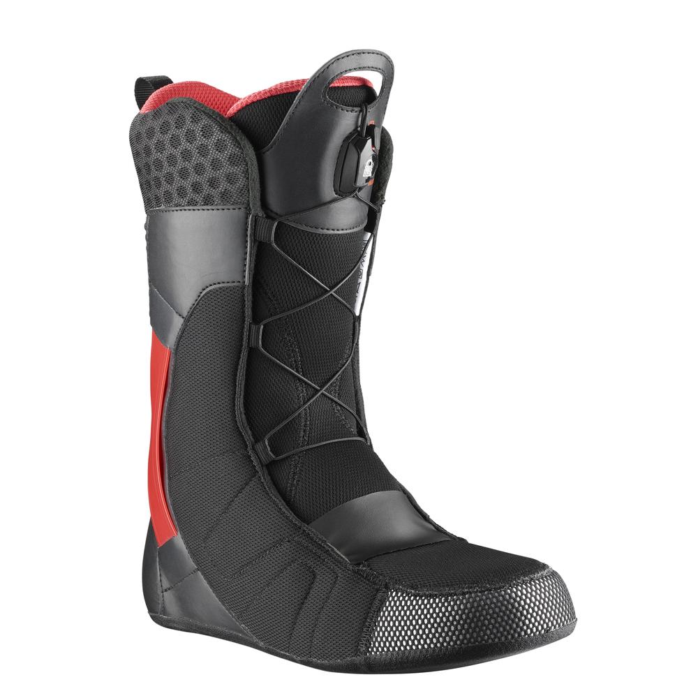 Ботинки Для Сноуборда Salomon 2017-18 Malamute Black