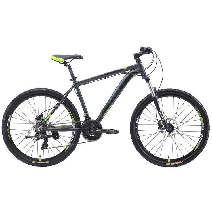 Велосипед Welt 2018 Ridge 1.0 Hd Matt Grey/green