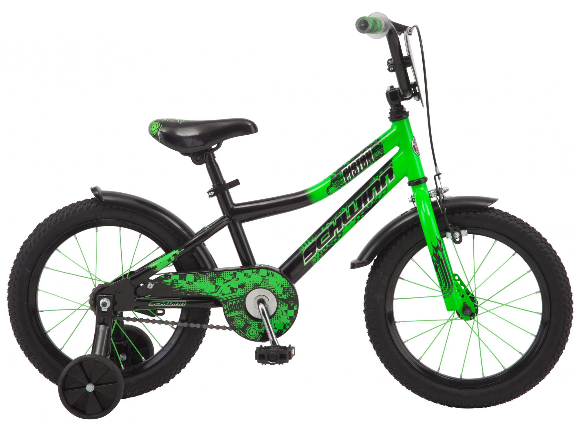 Купить Велосипед SCHWINN PISTON 2018 Зеленый, До 6 лет (колеса 12 -18 ), 1404569