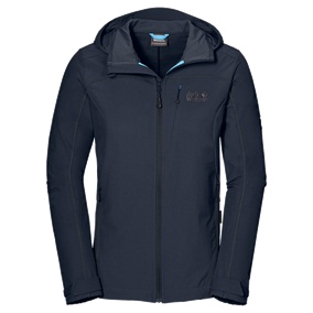 Куртка для активного отдыха Jack Wolfskin 2015 Rock Me II Softshell Jkt W night blue