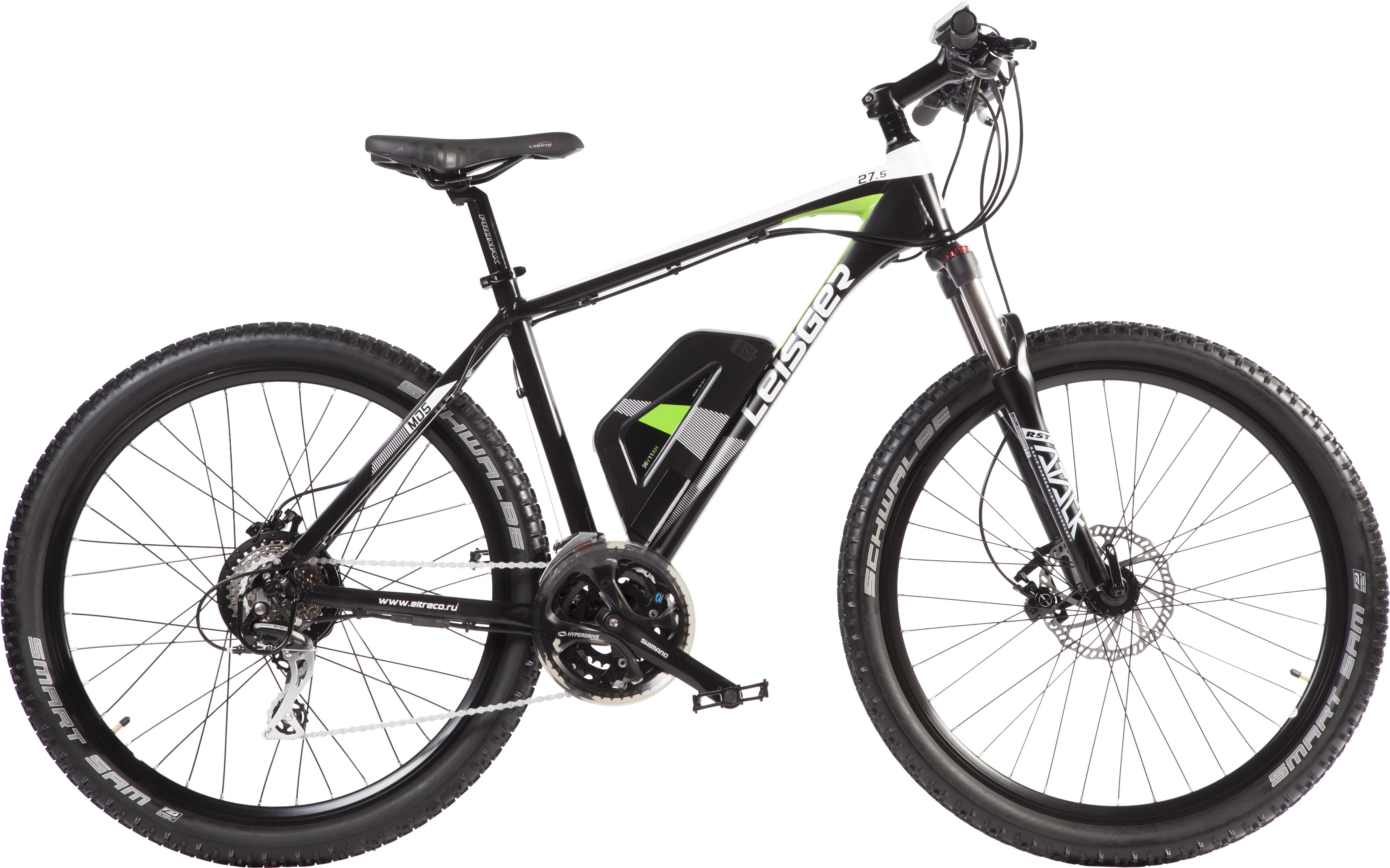Купить Велогибрид ELTRECO LEISGER BASIC MD5-650-B+MB 361175WG16 black/green, Велогибриды, 1327526