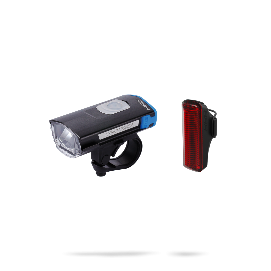 Фонарь Передний Bbb Swatcombo Usb Rechargeable + Sentry Rear Light